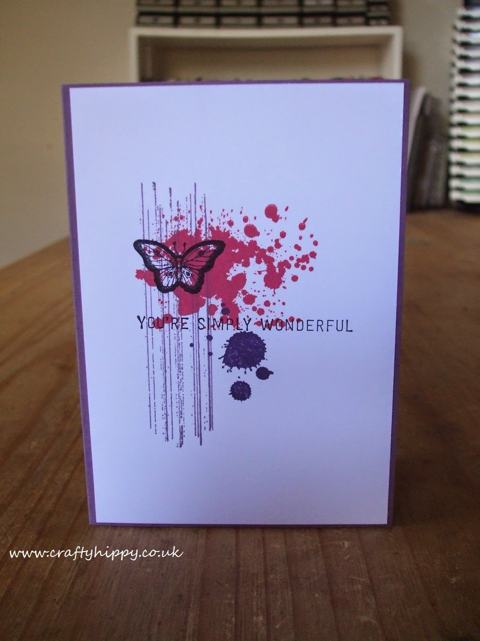 Stampin' Up! Papillon Potpourri, Gorgeous Grunge