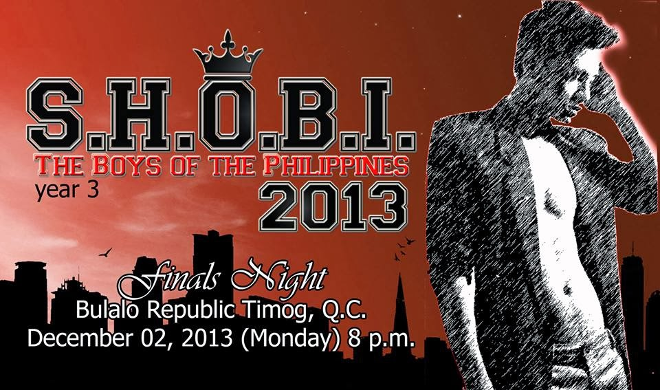 S.H.O.B.I. 2013 (The Boys Of The Philippines) Year 3 FINALS NIGHT