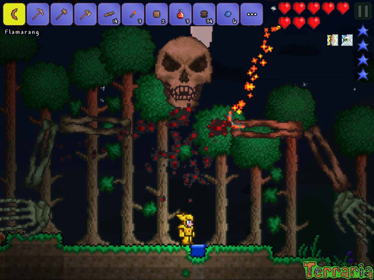 how to get free items in terraria android