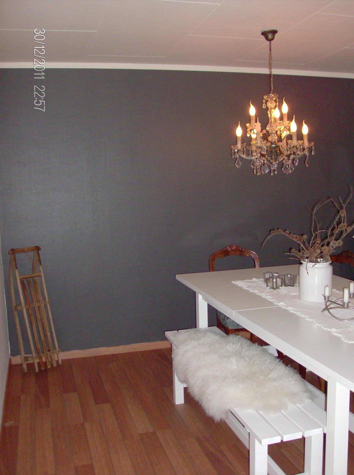 Male en vegg i annen farge