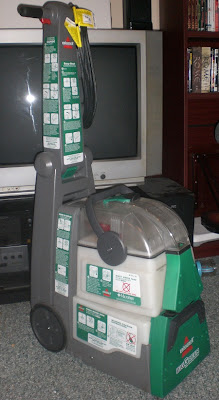 Big Green Carpet Cleaning Machine