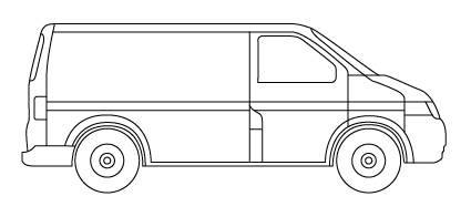 Van Outline Drawing Submited Images