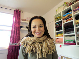 easy knitting, beginner knitting, DIY Scarf, DIY Cowl