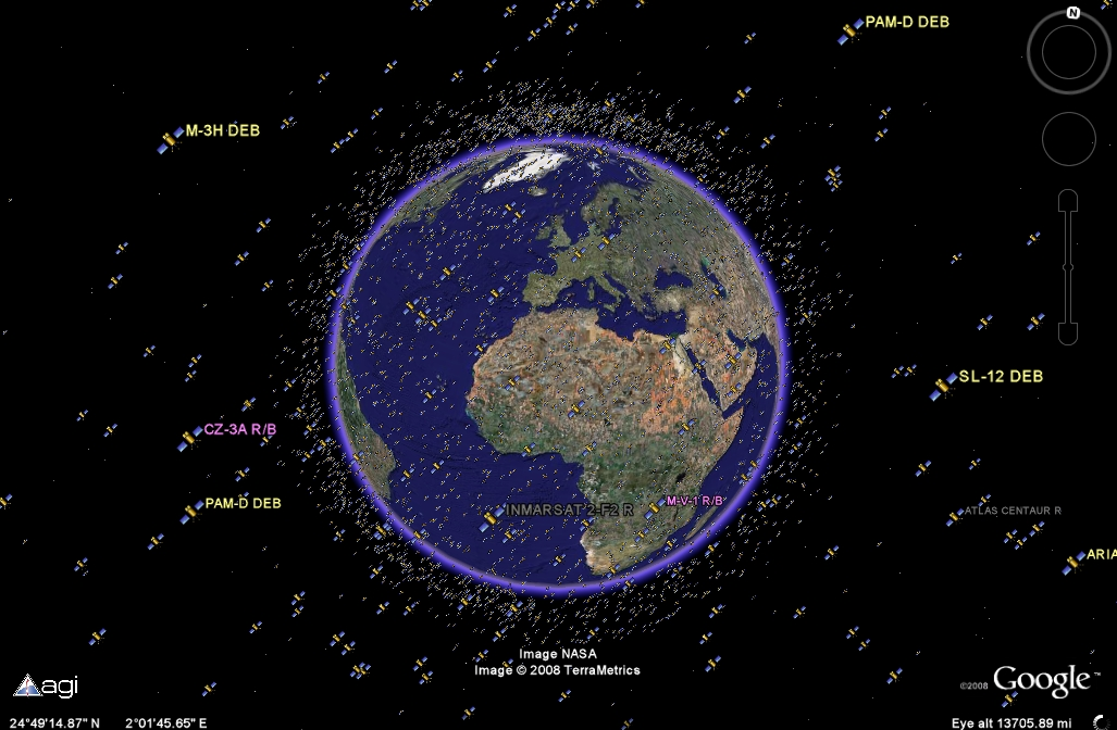 an introduction to the analysis of satellites orbiting the earth Geo-stationary and polar satellites  for intensive data analysis they circle the earth in a  to a typical polar orbiting satellite,.