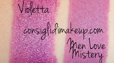swatch men love mistery rossetto mac