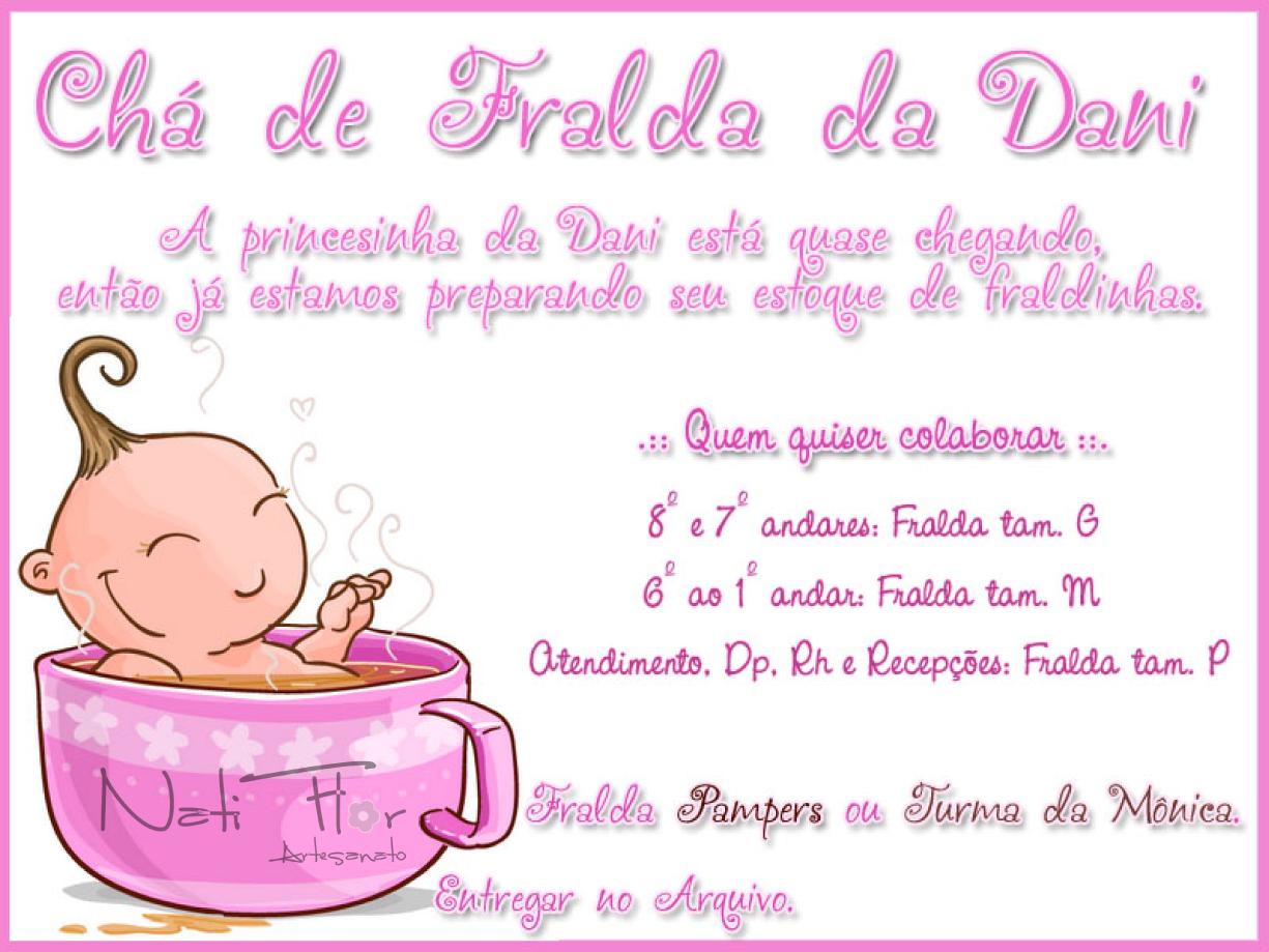 Convite Ch   De Fralda   A    O Entre Amigos