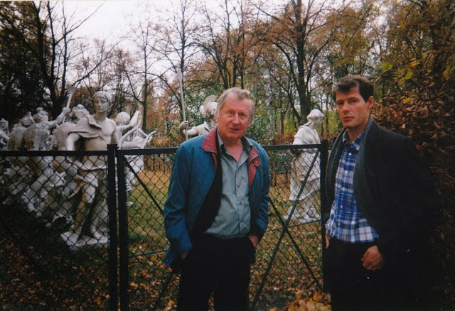 WITH POET UWE KOLBE IN BERLIN
