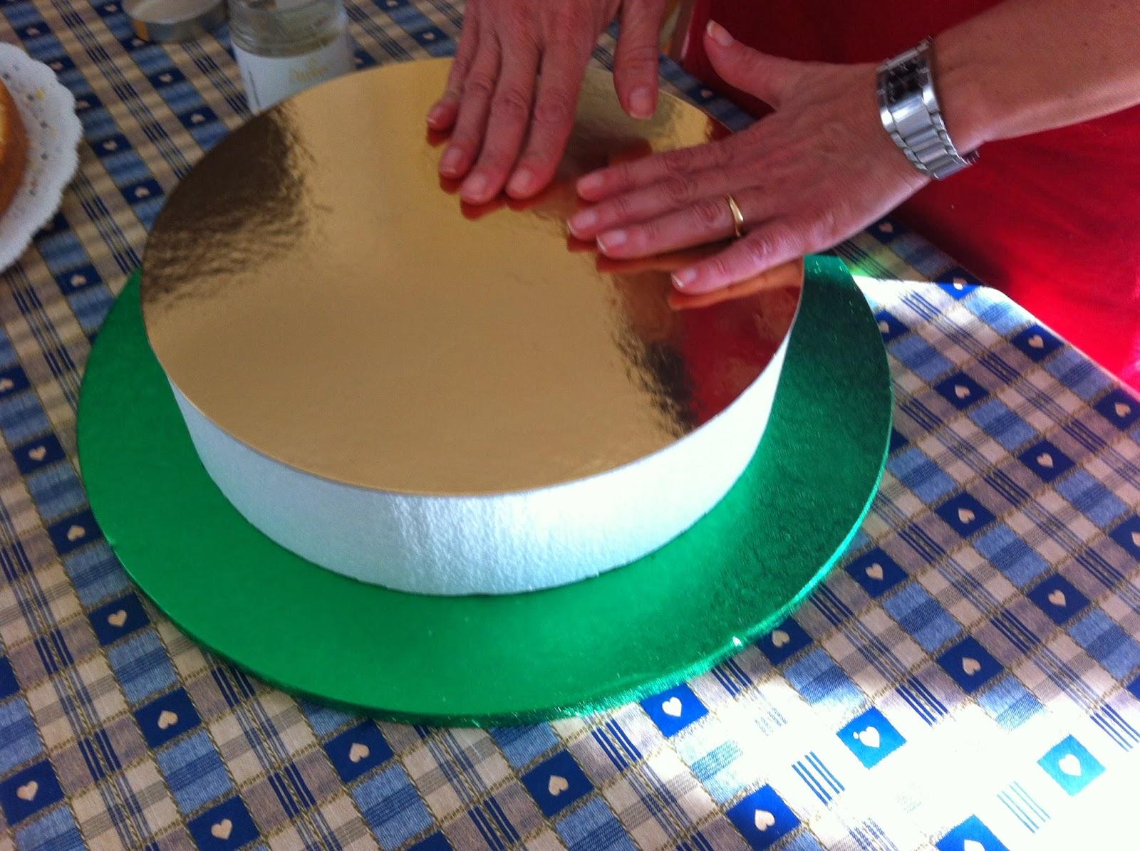 Ok cucchiai torta americana con cuore di pasticceria italiana for Incollare il polistirolo