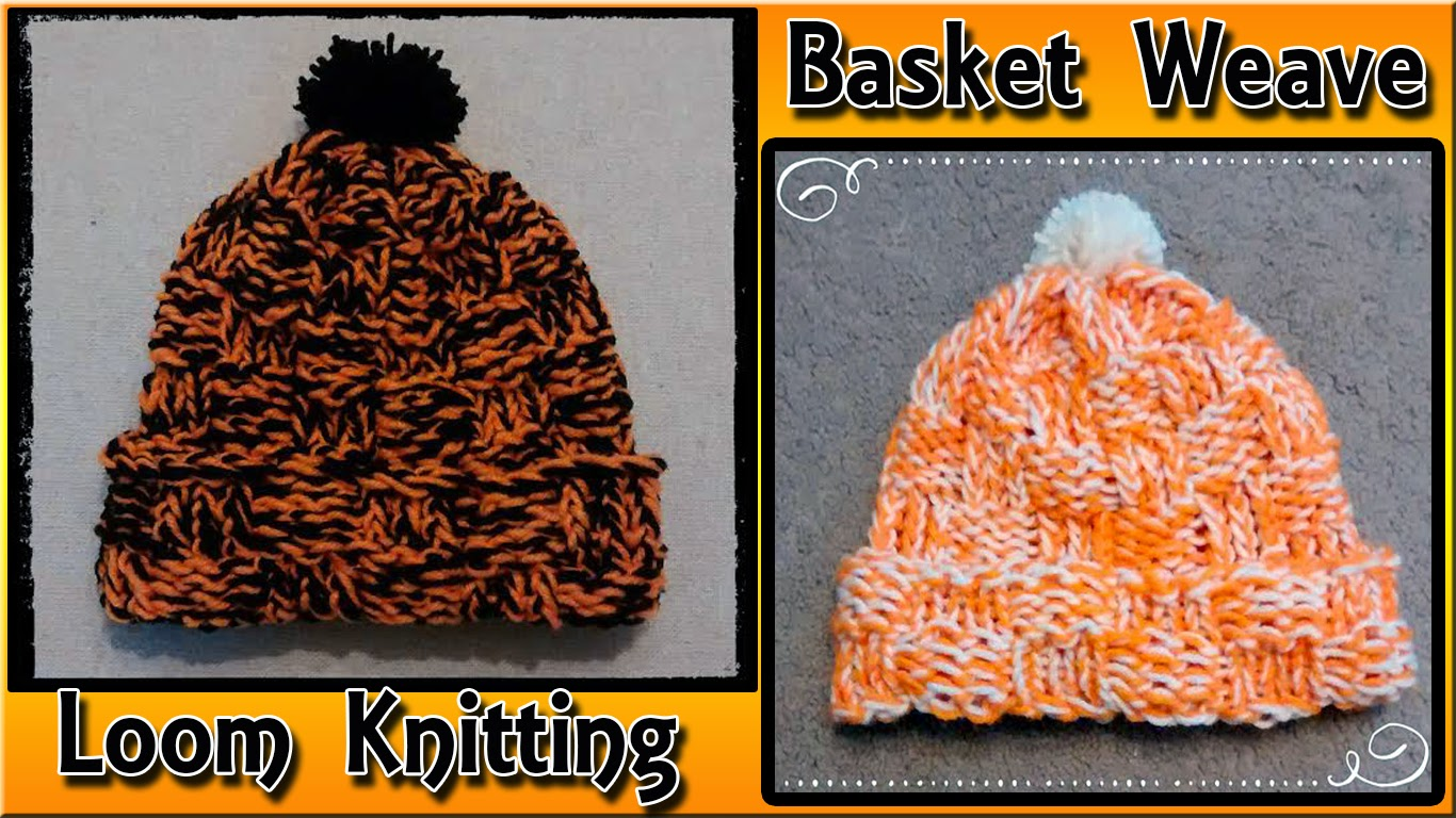 How To Do A Basket Weave Knit : Easymeworld loom knit a basket weave hat for beginners