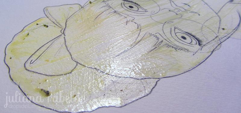máscara para aquarela juliana rabelo