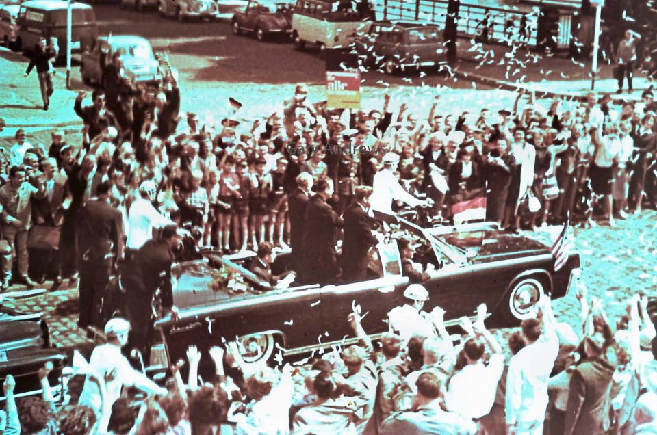 AGENTS ON REAR OF JFK'S LIMO, SUMMER 1963