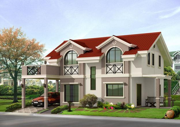 Dream houses for Exterior kerala house colors