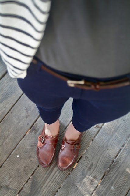 Mint, Navy Jeans