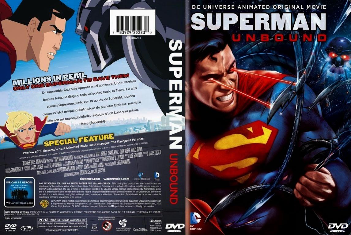 Superman Unbound DVD