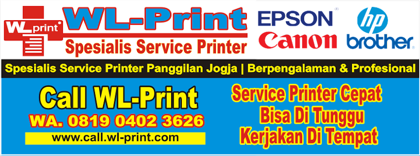 Jasa Service Printer Panggilan Jogja Dengan Teknisi Printer Berpengalaman & Profesional