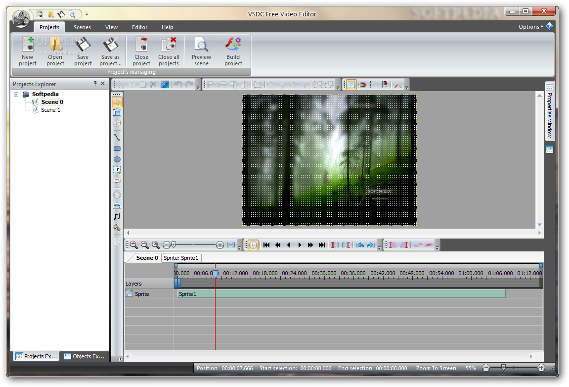 vsdc free video editor 2 1 professional video