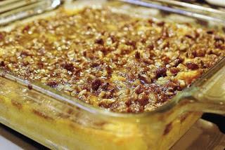 Pecan Orange Sweet Potato Casserole