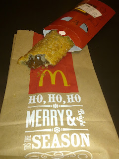 McDonald's Festive Chocolate Pie