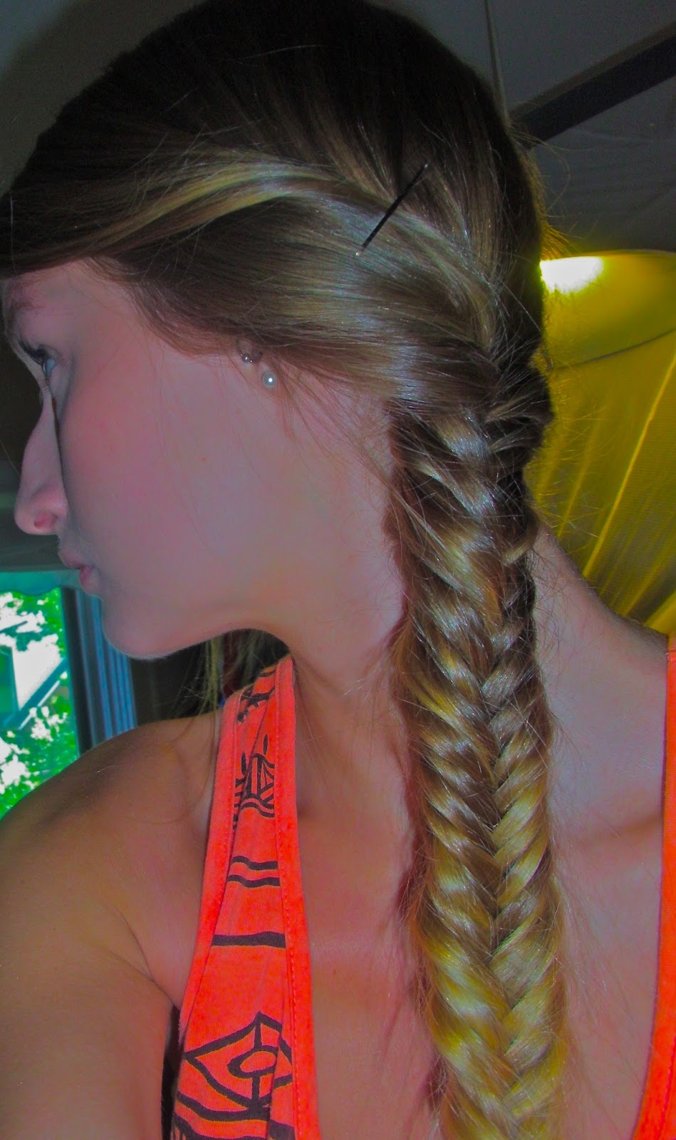 how to make a fishtail braid easy