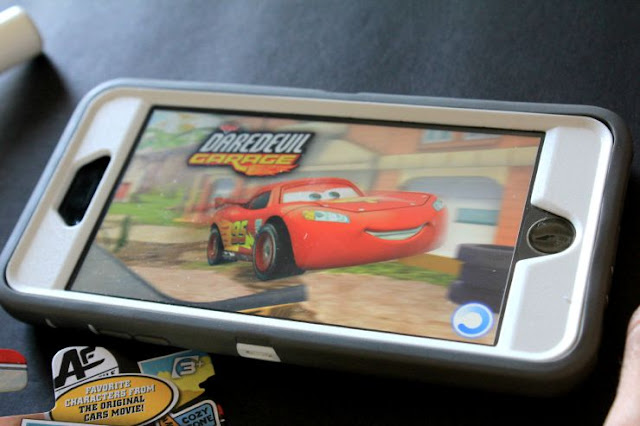 Indoor Fun With Disney Pixar Cars and the Cars Daredevil App #DisneyPixarCarsToGo #ad
