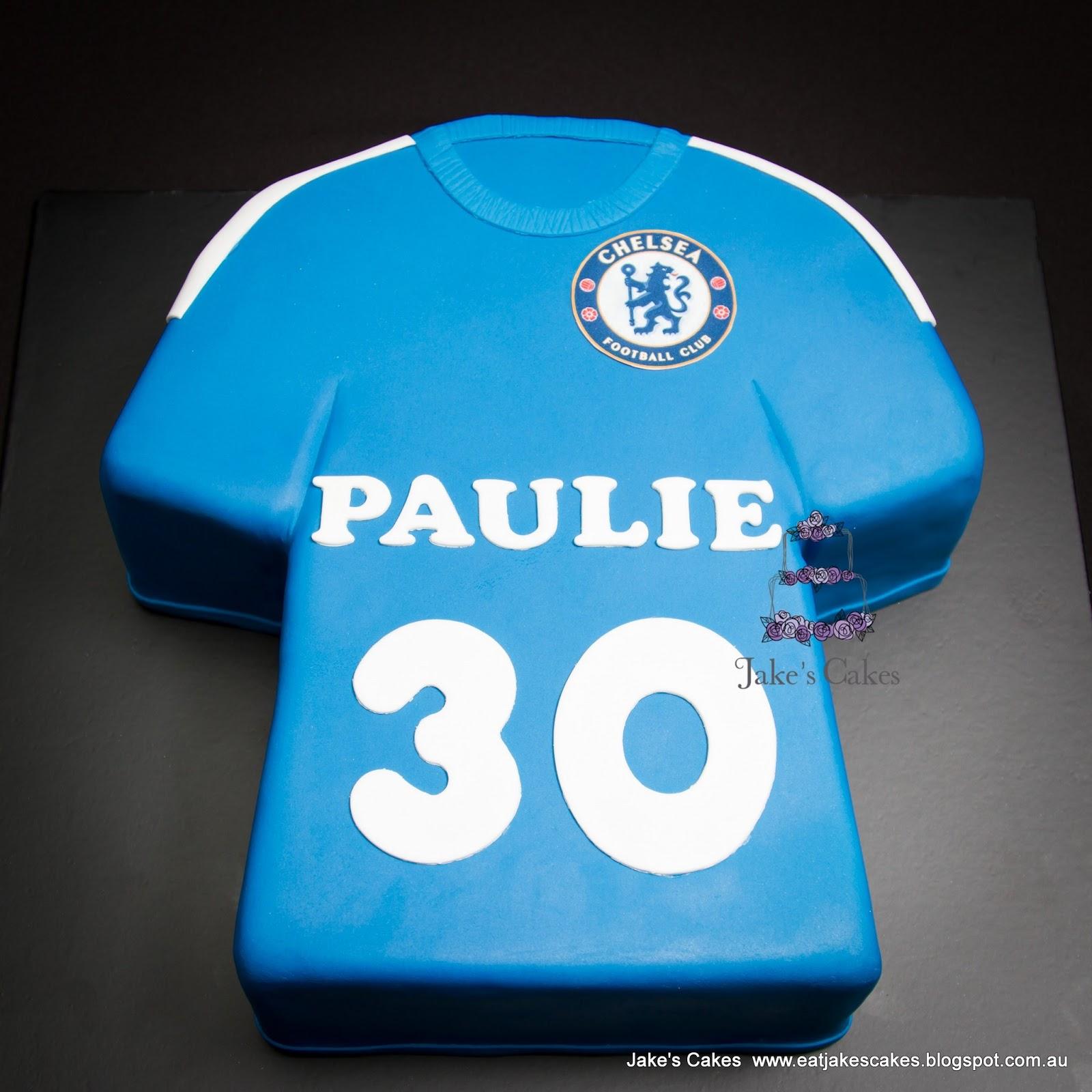 0baec05c0 Jake s Cakes  Chelsea Football Club Shirt Cake