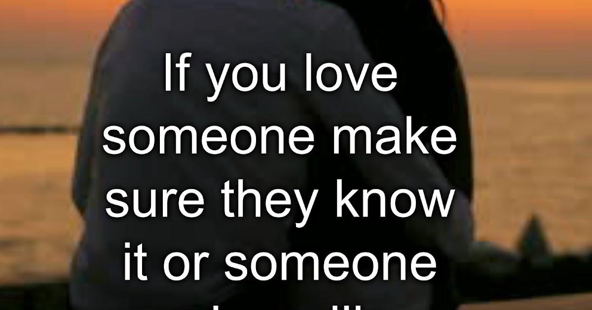 how to know u love someone
