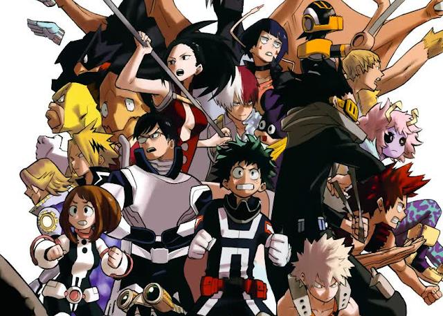 Anime 'Boku no Hero Academia' Pamerkan Desain Karakter