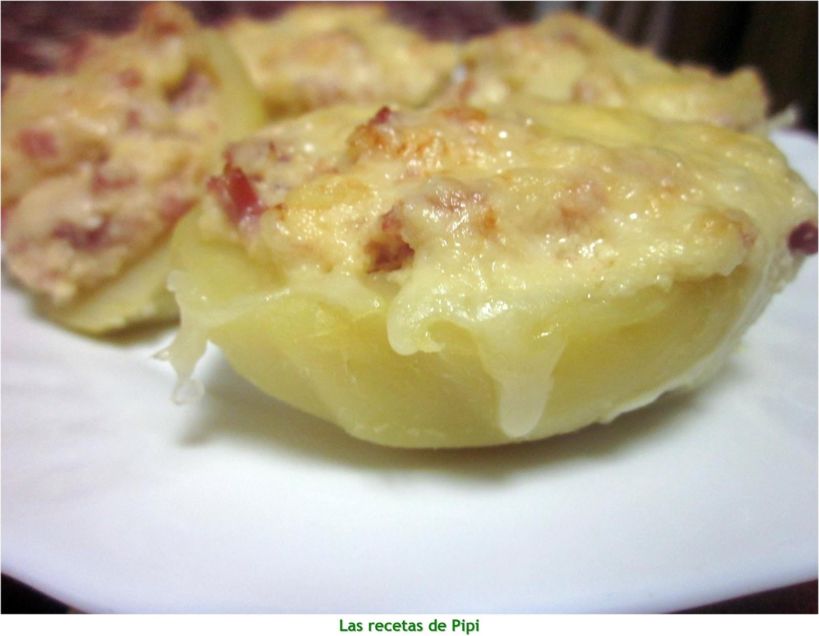 Patatas rellenas thermomix utilizando thermomix cocina f cil y barata - Cocina facil y saludable thermomix ...