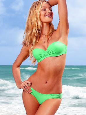Candice Swanepoel show off her body curves in Victoria's Secret sexy bikini photoshoot