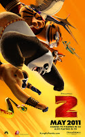 Download Kung Fu Panda 2 3D (2011) BluRay 720p Half SBS 500MB Ganool
