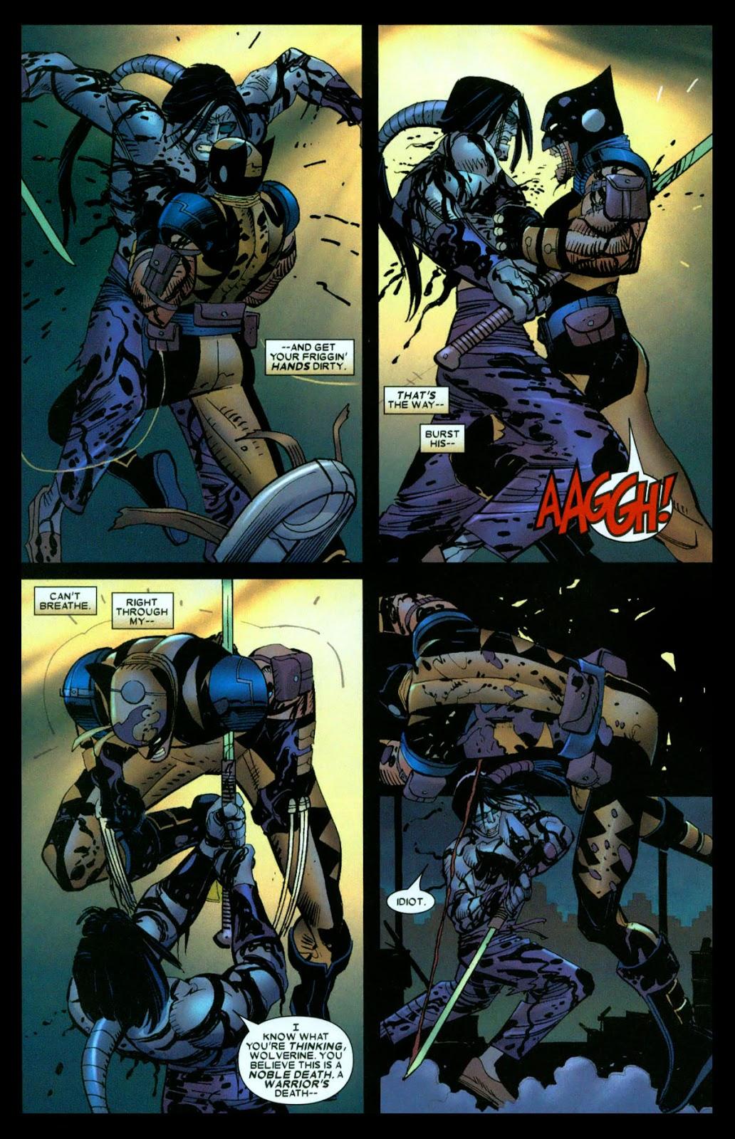 Read online Wolverine (2003) comic -  Issue #31 - 12