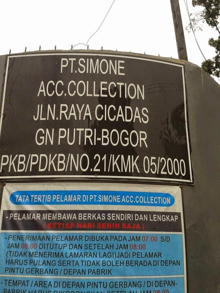 Lowongan Kerja Sejabodetabek | Loker Jakarta Bogor Depok Tangerang