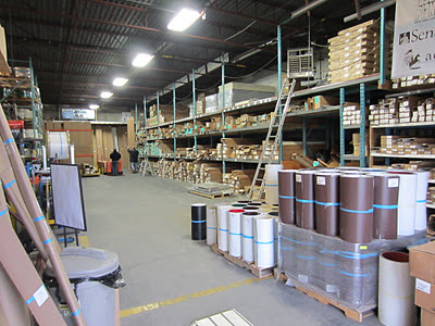 Buchner manufacturing warehouse