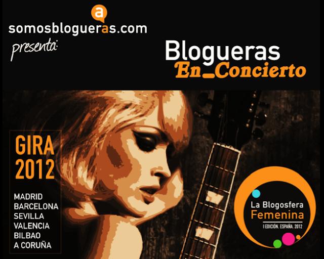 Cartel de Blogueras En_Concierto