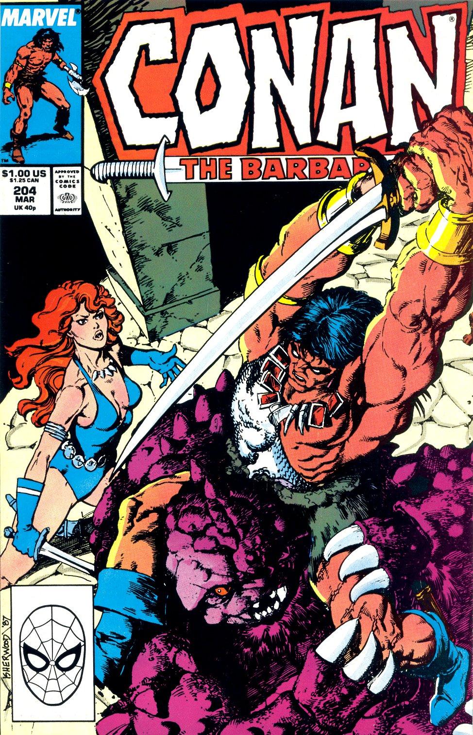 Conan the Barbarian (1970) Issue #204 #216 - English 1