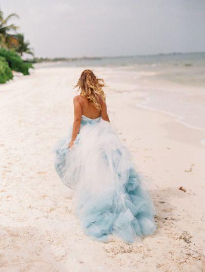 Vestidos de novia algo azul