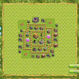 Base Clan War TH5 3