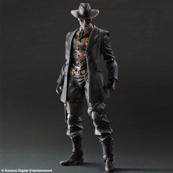 Play Arts Kai - Metal Gears Solid 5 - The Phantom Pain - Skull Face figure