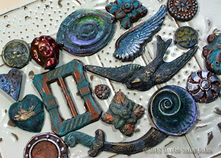 Patinaed Pretties and Rusty Relics Jewelry Class with Barbe Saint John