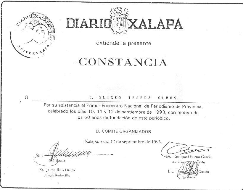 En los 50 años del Diario de Xalapa