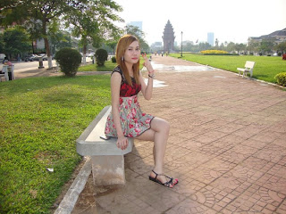 Sok Sereyrath facebook girl beauty skin Khmer girl 2
