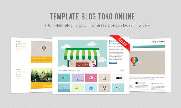 Template Blog Toko Online Gratis Dengan Desain Terbaik