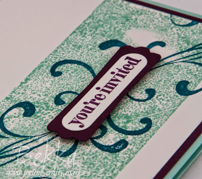 This stylish Everything Eleanor Invitation would be great for a wedding or a party - check it out here