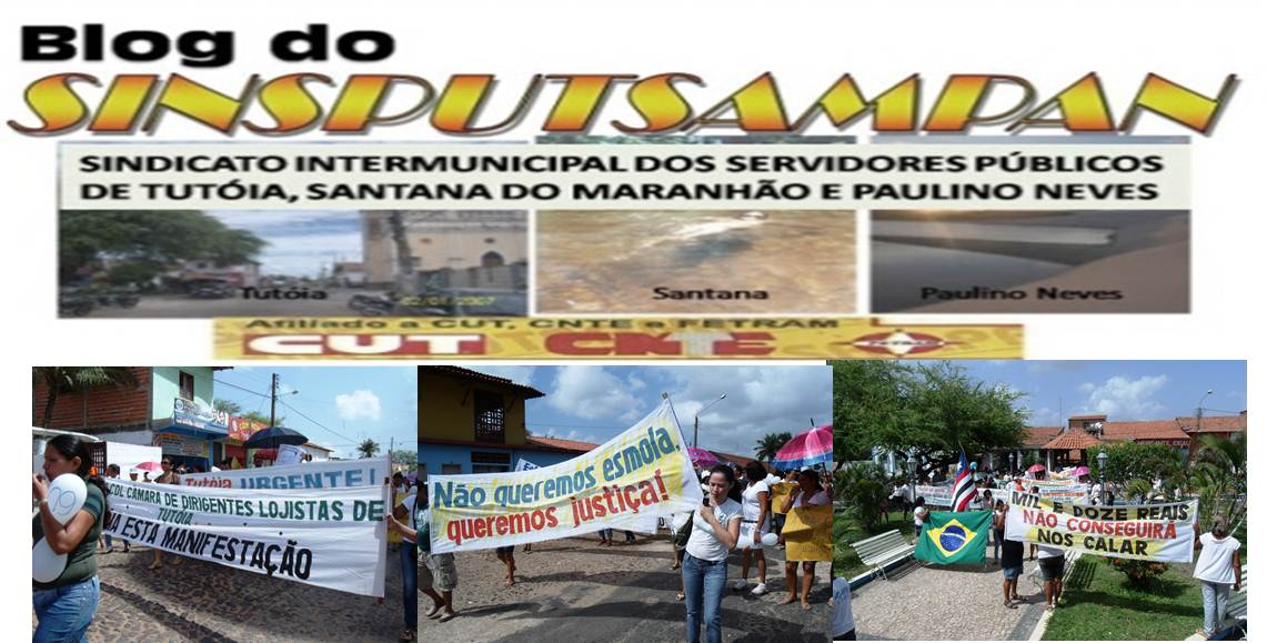 blog do sindicato de Tutoia