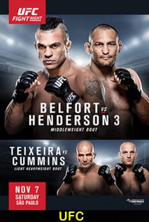 Assistir UFC Fight Night 77: Belfort vs. Henderson 3