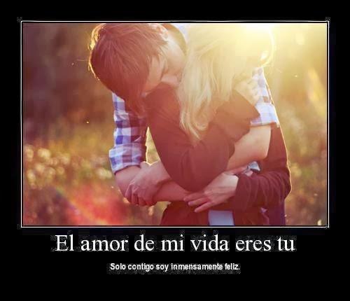 El Amor De Mi Vida Eres Tu, Solo Contigo Soy