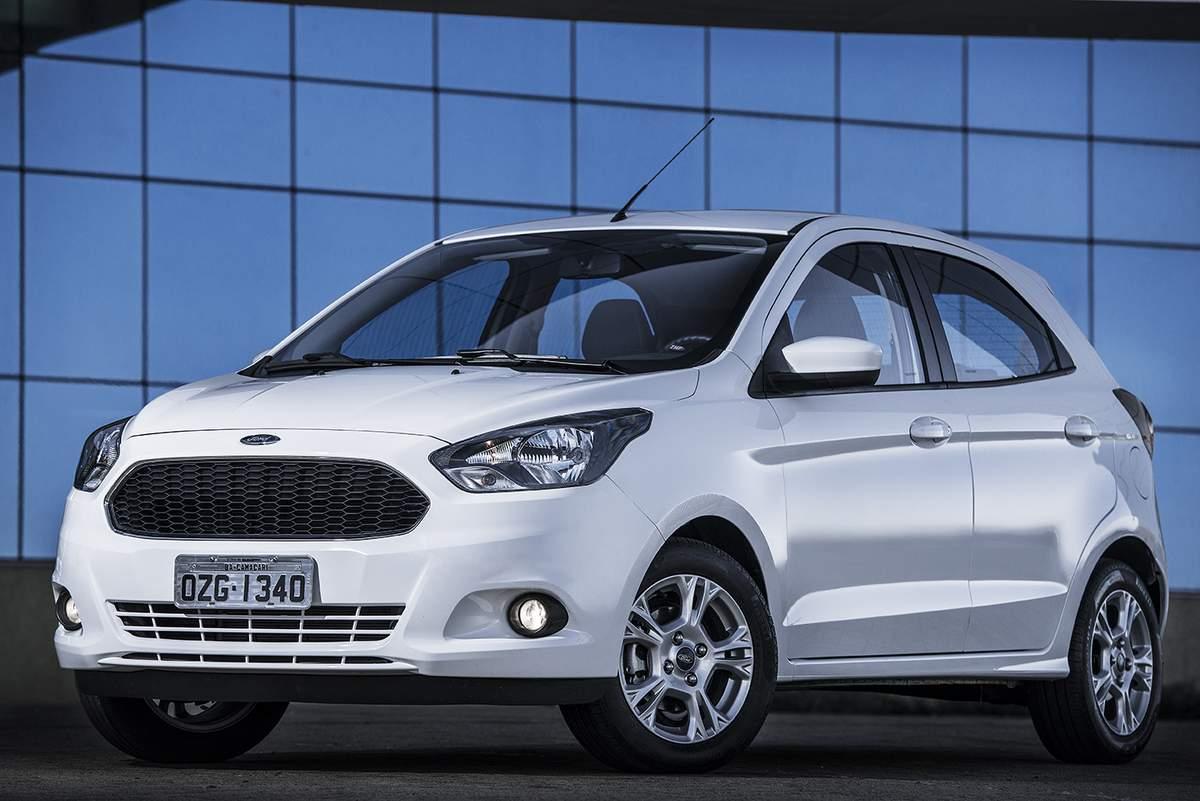 Novo Ford Ka - vendas para locadoras