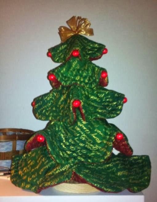 Cosetes que faig ideas patchwork para navidad - Como hacer un arbol de papel grande ...