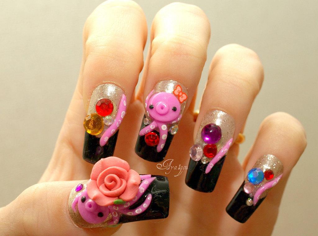 nail art nail tips
