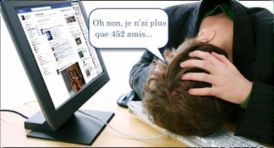 Plus on a d'amis sur Facebook, plus on est stressé